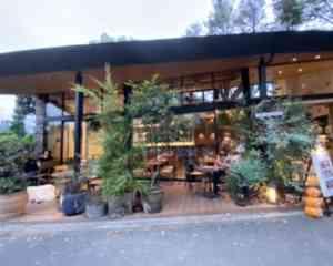駒沢公園の園内のカフェ