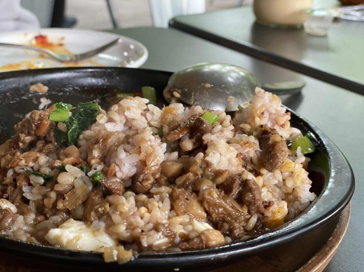 ロイヤルガーデンカフェ青山の魯肉飯(ルーローハン)
