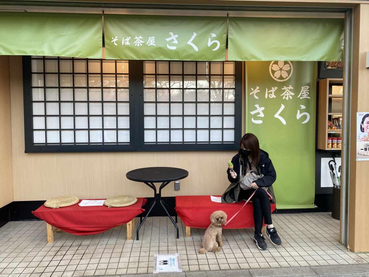 小金井公園 そば茶屋 さくら