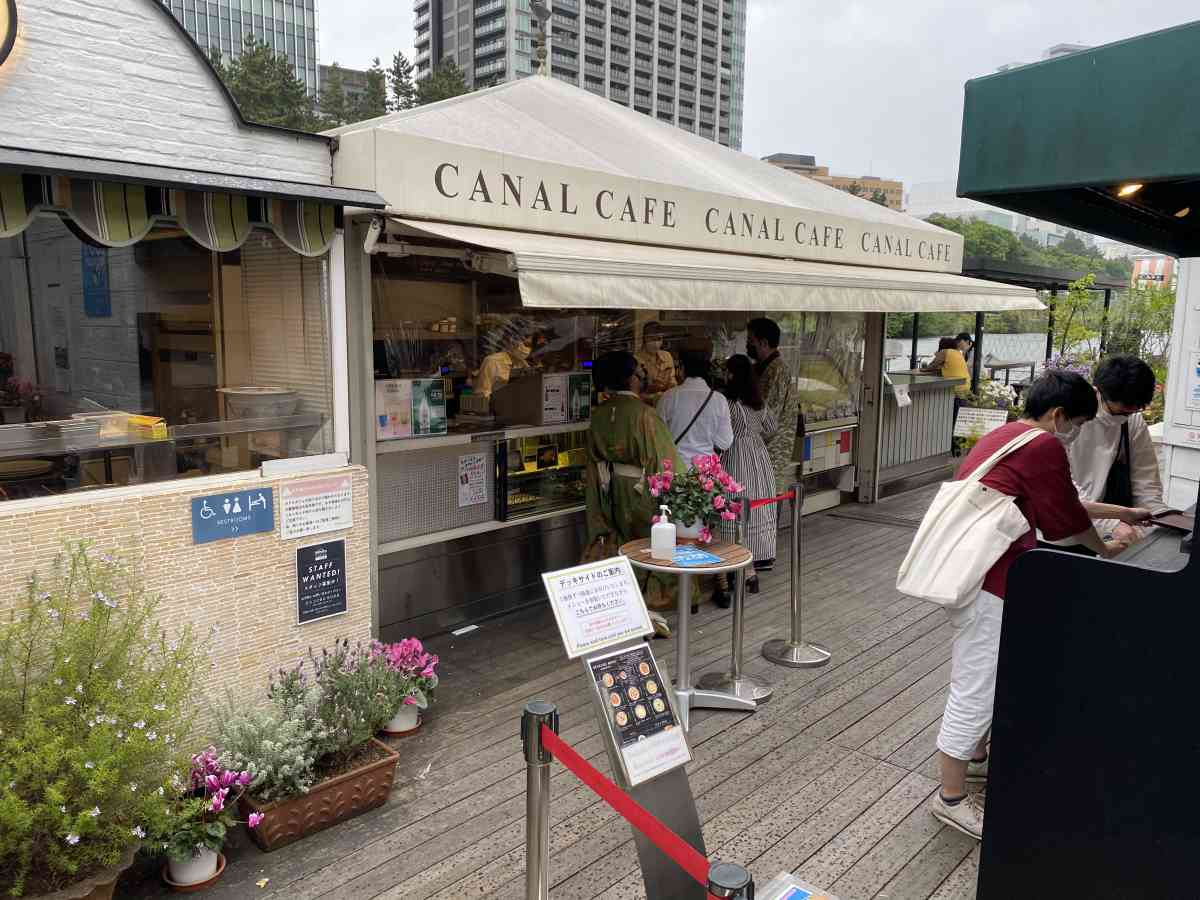 神楽坂・飯田橋のカナルカフェの内観