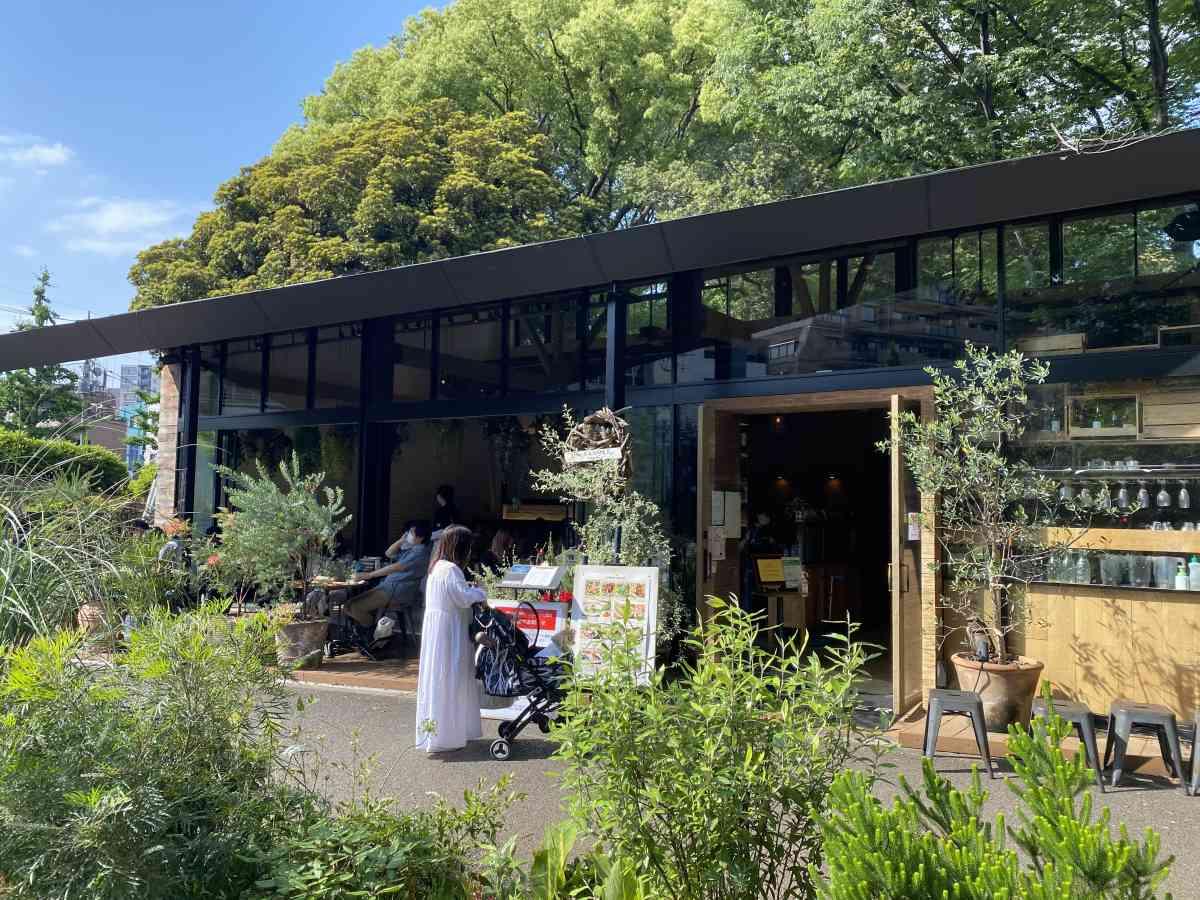 駒沢公園のミスターファーマーの外観