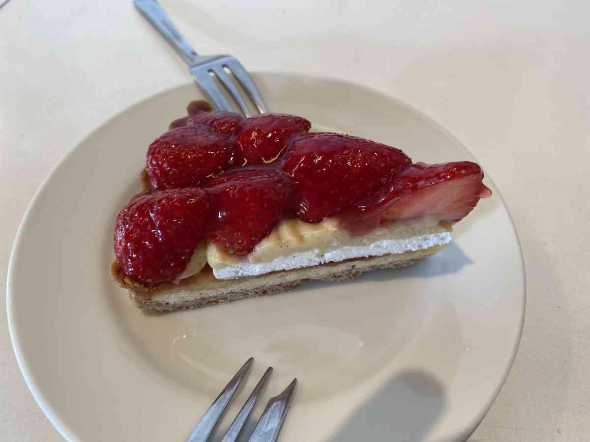 バワリーキッチンの苺のタルト