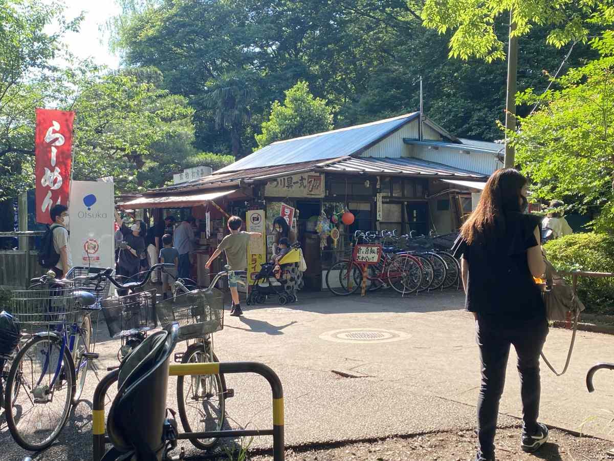石神井公園の食堂&売店