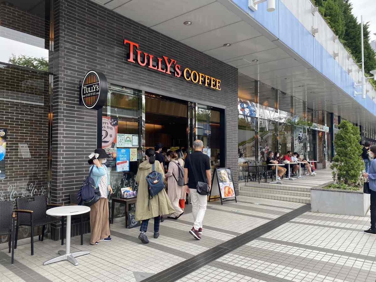 東京ドームシティーのタリーズコーヒー