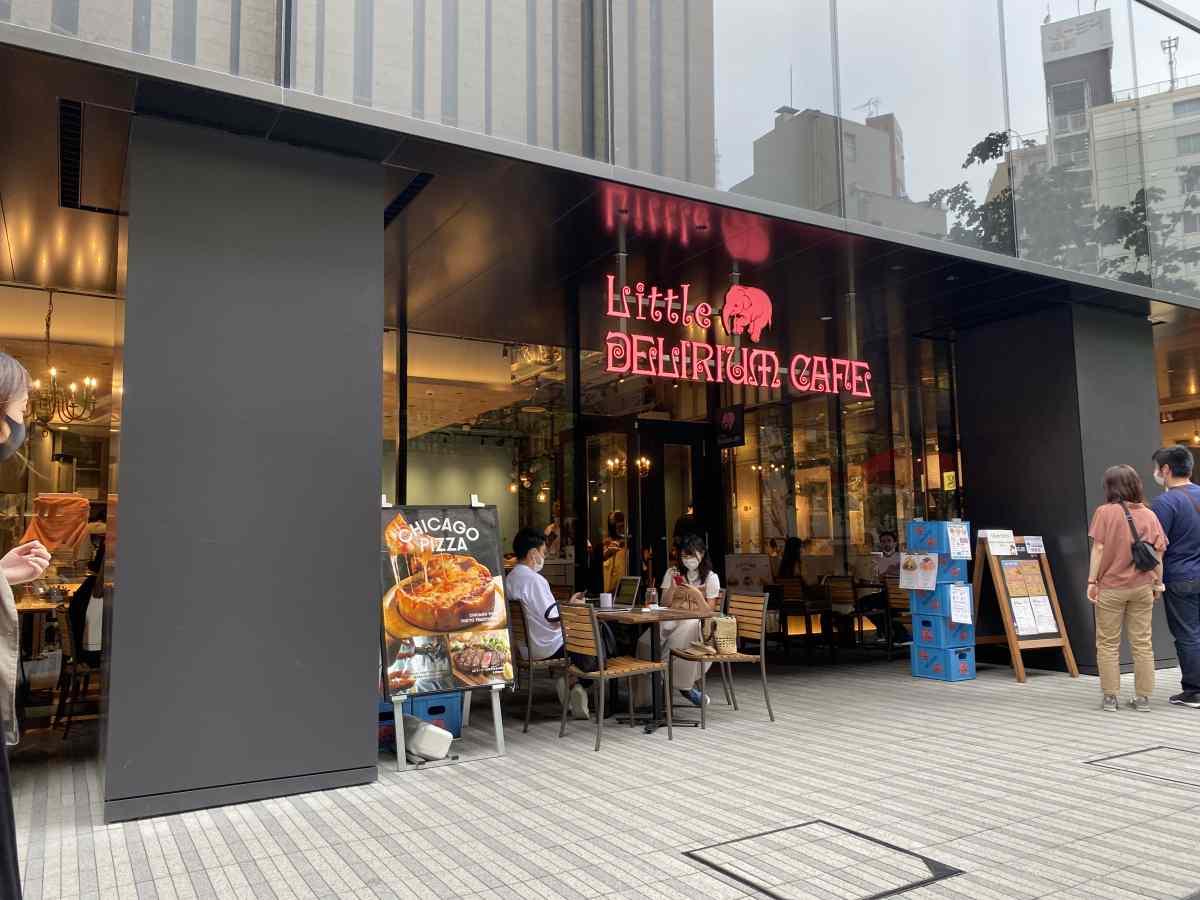 リトル デリリウムカフェ(ハレザ池袋店)の外観
