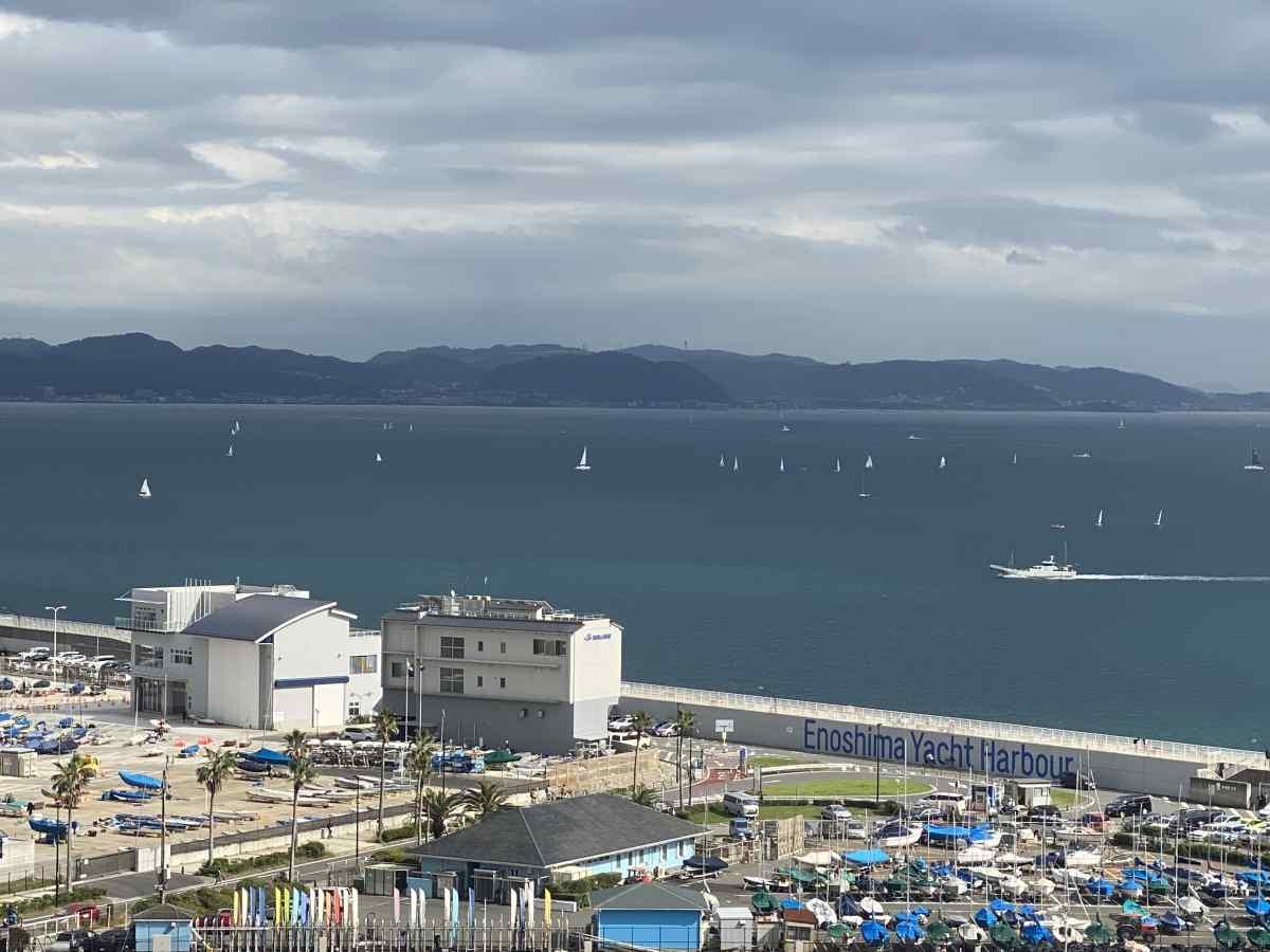 江の島のからの眺望
